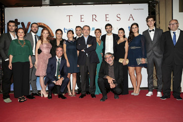 Jose Antonio Lobato y Richard Sahagún en 'Teresa'