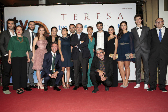 TVE estrena Teresa en el festival de San Sebastián