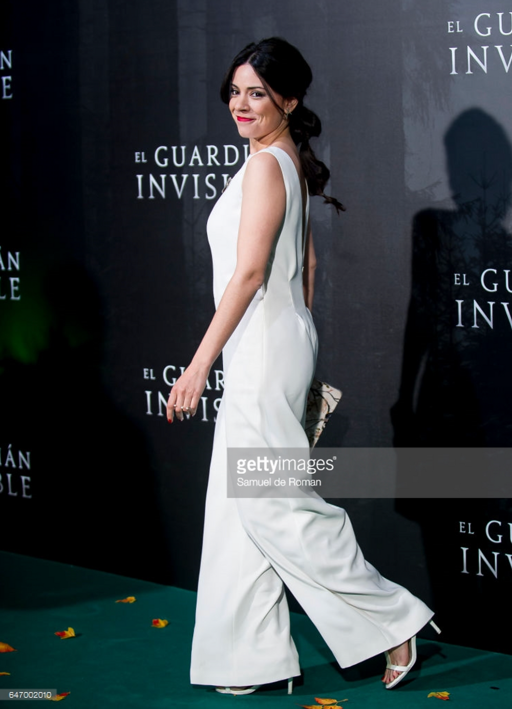 """Ana Arias en la premiere de """"El Guardián Invisible"""", marzo 2017"""