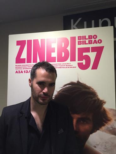 Richard Sahagún en Zinebi 57 - Festival internacional de Cine Documental y Cortometraje de Bilbao