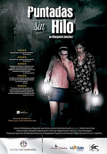 Oti Manzano regresa con la obra 'Puntadas sin hilo' al Teatro Lara