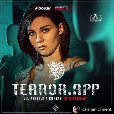 Estreno de #Terror.App con Carmen Climent en el Sitges Film Festival