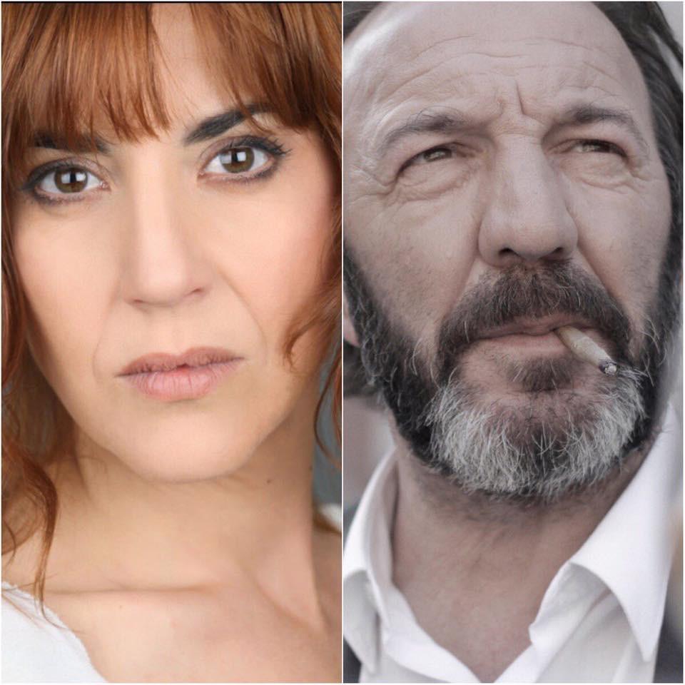 Oti Manzano y Jose Antonio Lobato. Rodaje Vitoria, 3 de marzo - La Película