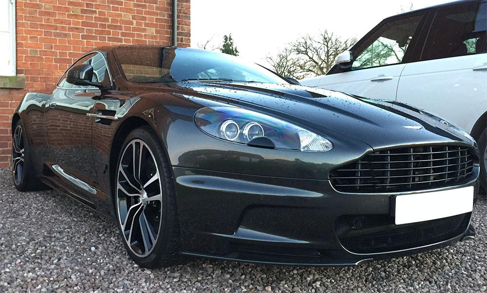 Aston Martin Paint Corrected