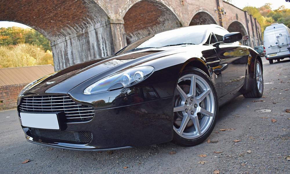 Aston Martin Swirl removal