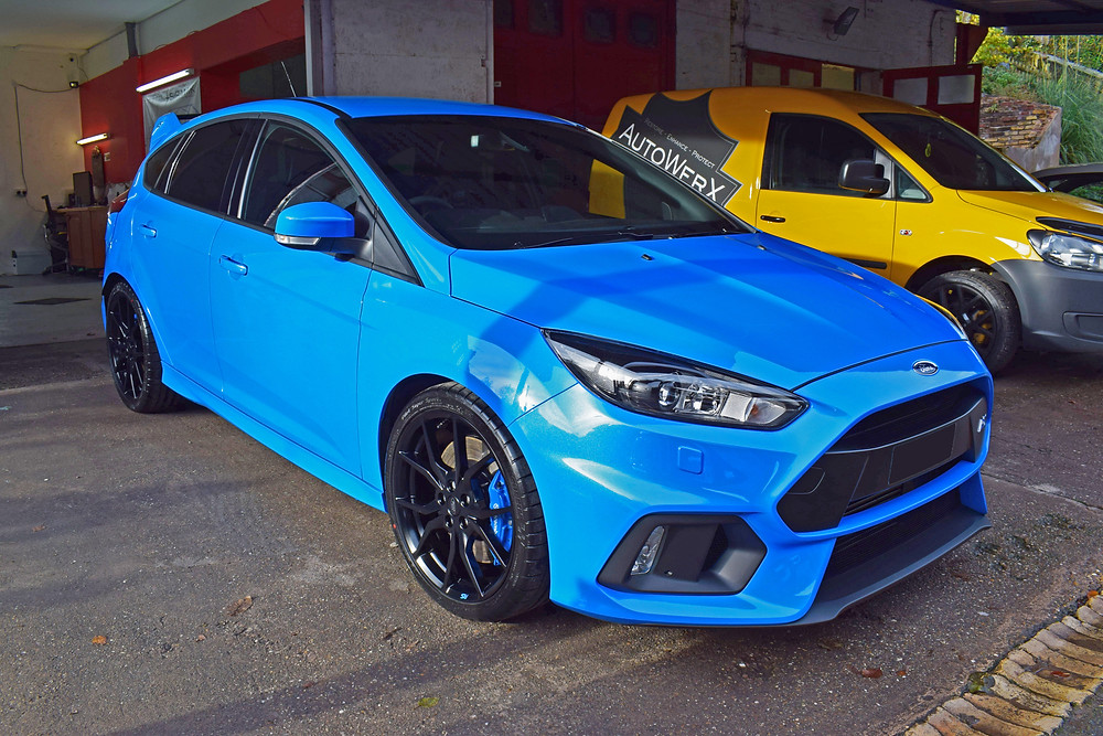 Nitrous Blue Focus RS Paint Protection