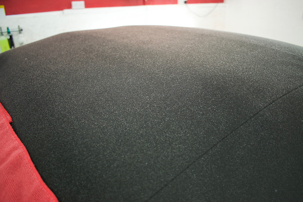 Porsche Boxster S Fabric Roof Protection