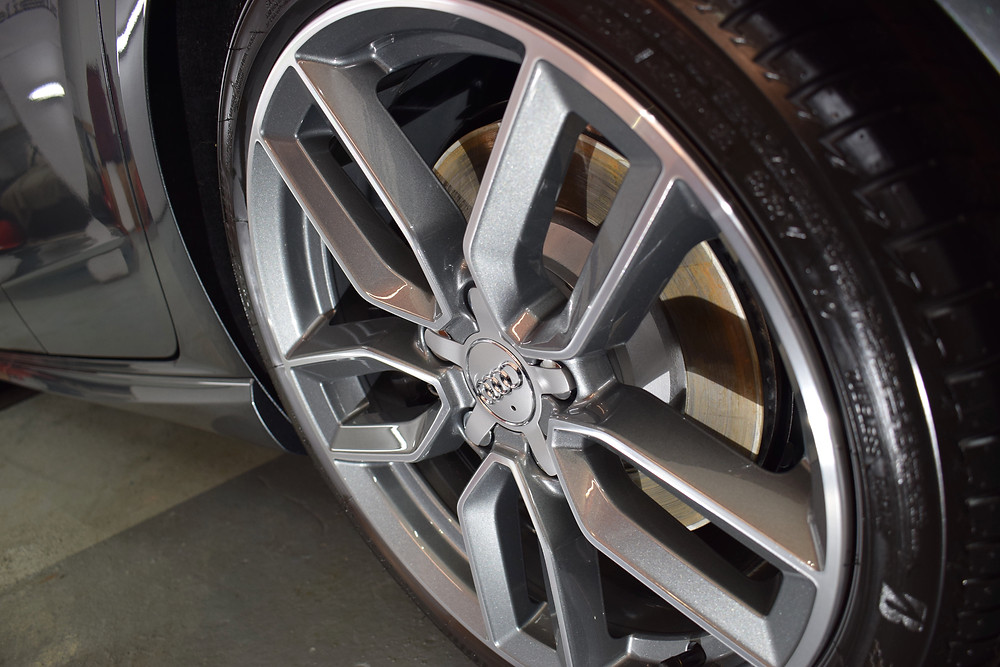 SiRamik HR on Alloy Wheels Audi S3