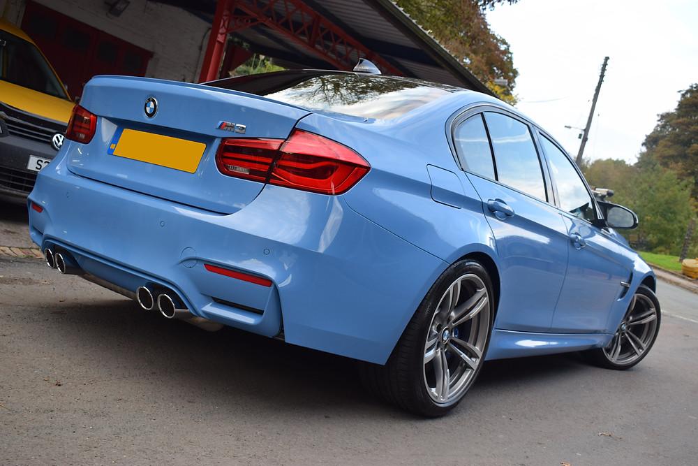 BMW M3 SiRamik Glasscoat