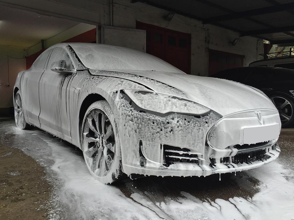 Tesla Paint Protection Detail