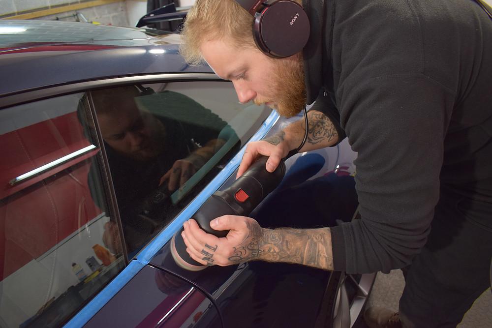 car paint correction telford shropshire