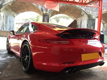 Porsche New Car Detail - 911 Carrera S