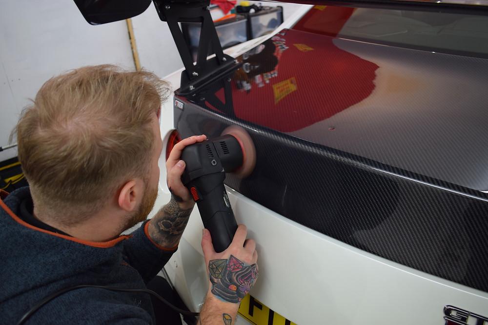 Car Detailing Telford, Nissan GTR Detailing