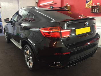 BMW X6 SiRamik APT - Car Detailing West Midlands