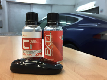 Tesla Model S P90D - New Car Protection Detail using Gtechniq C1 and EXOv2
