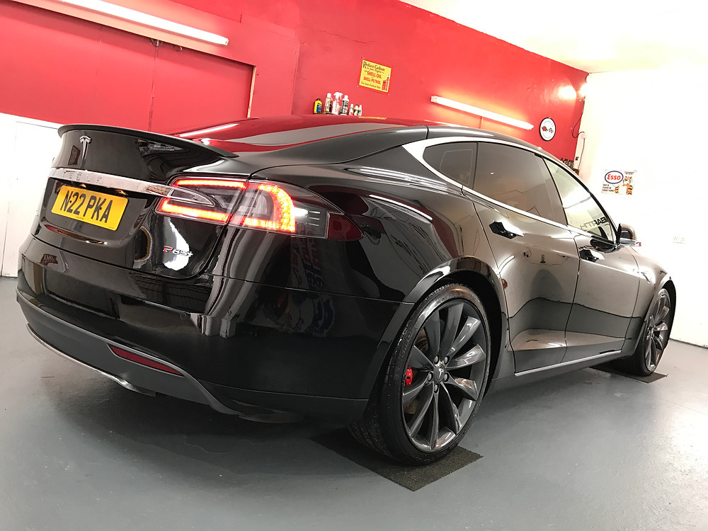 Tesla Paint Protection Birmingham