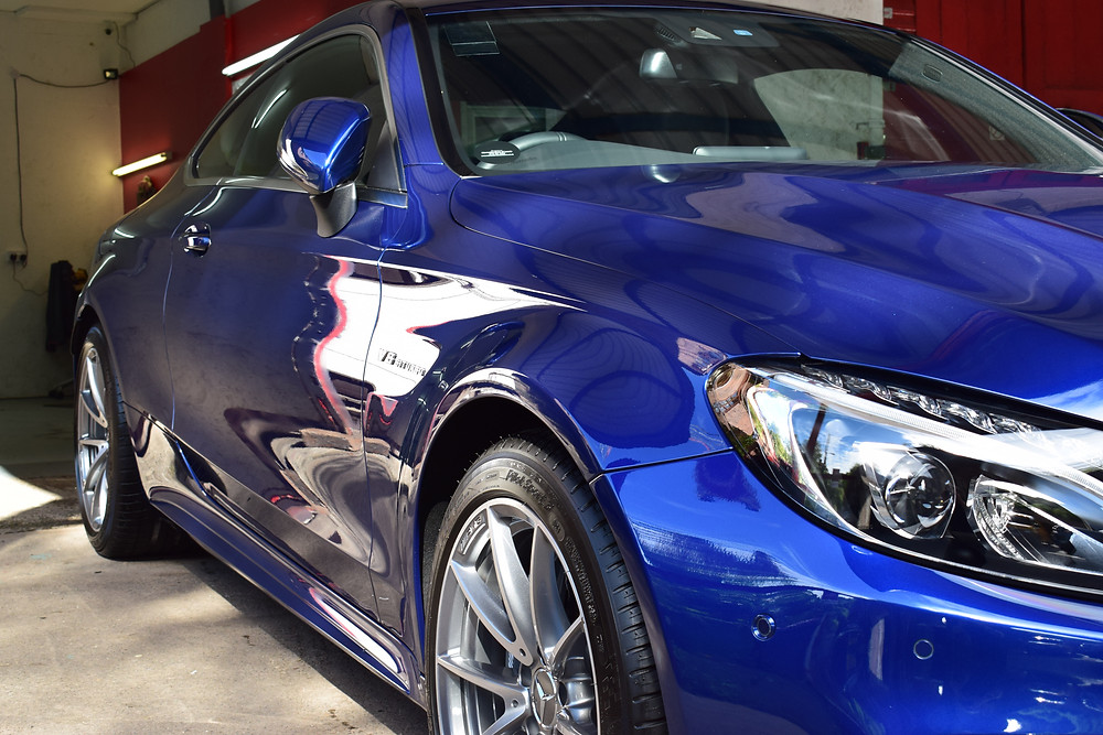 New Car Protection Detail Telford