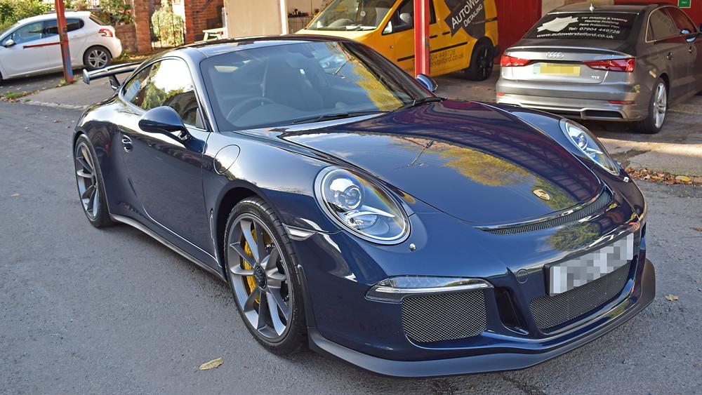 Porsche GT3 Paint Protection