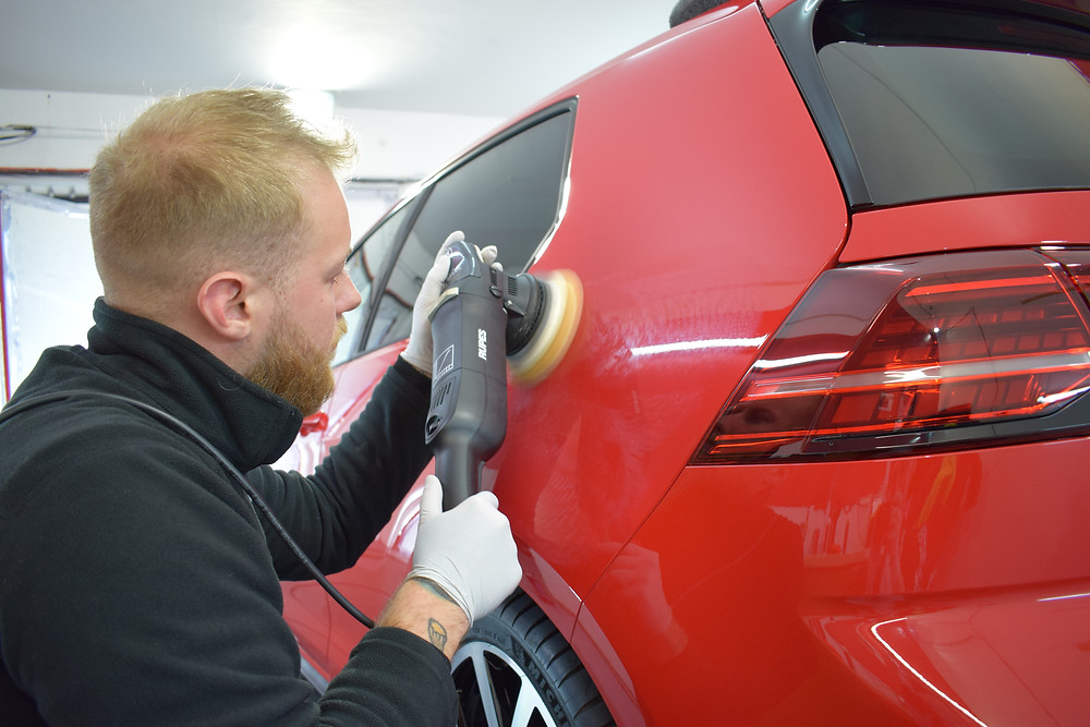 car polishing telford