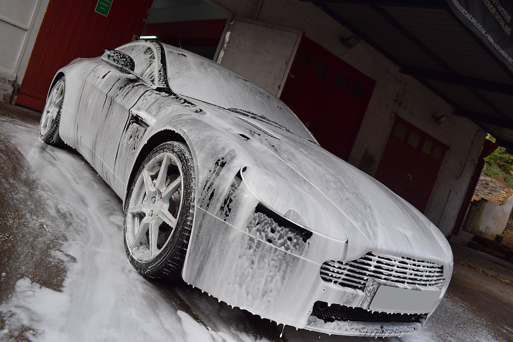 Aston Martin Vantage Paint Correction Detail