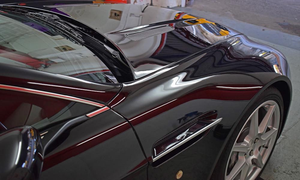 Aston Martin Swissvax Detail