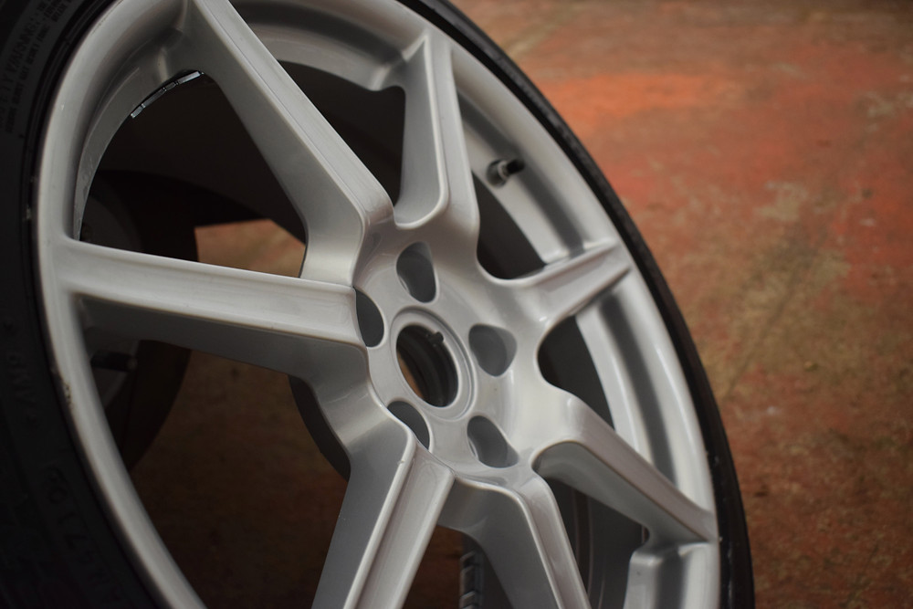 Aston Martin Wheel Refurbishment