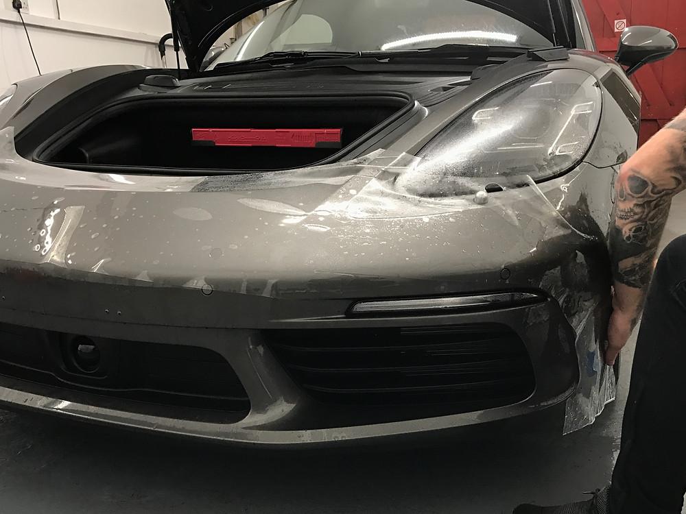 Porsche 718 Boxster S Paint Protection Film