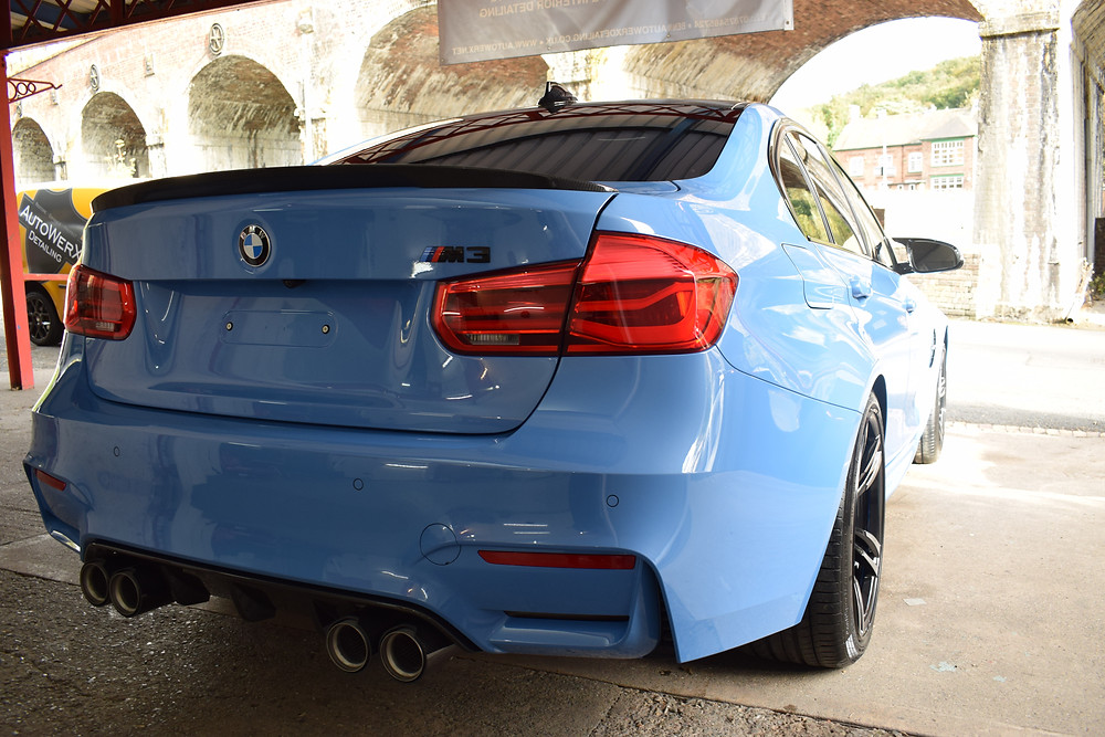 BMW M3 New Car Protection Detail