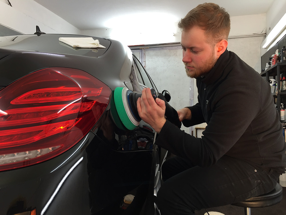 Mercedes S Class S350 - Paintwork Correction