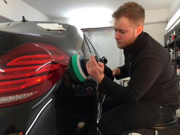 Mercedes S Class S350 - Paint Correction and New Car Protection with Gtechniq