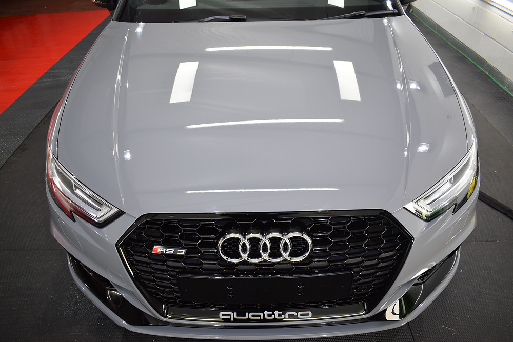 Audi RS3 front end stonechip protection