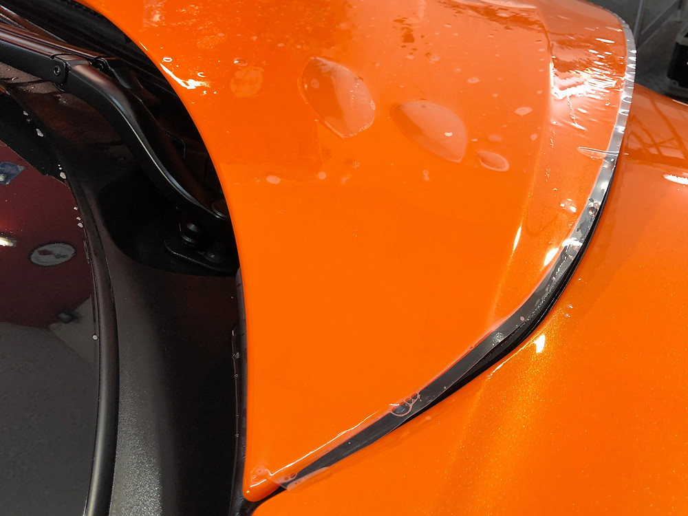 mclaren 570s paintwork protection film