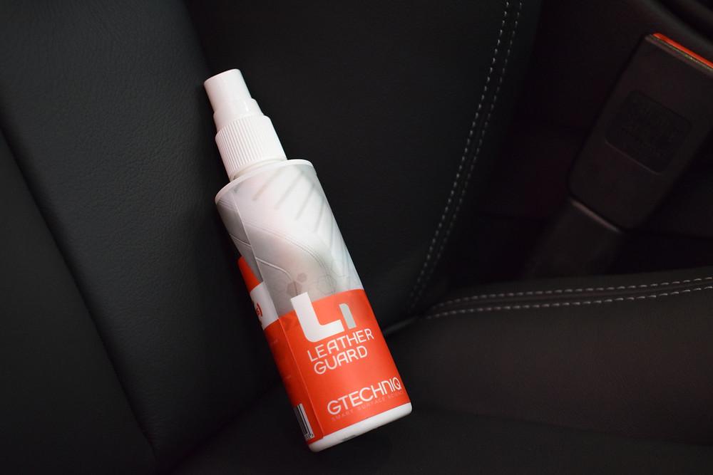 Gtechniq Leather Guard on BMW M4 Interior