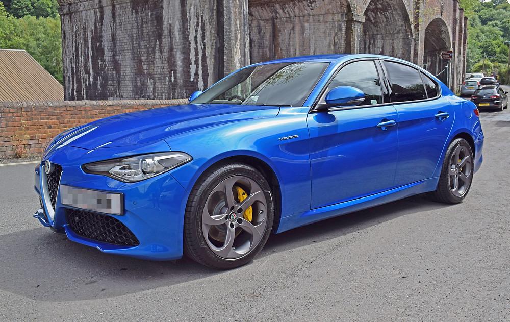 Alfa Romeo Giulia Milano Blue