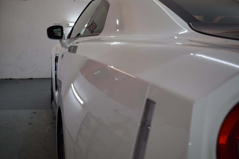 Car Detailing Shropshire, Nissan GTR Detailing
