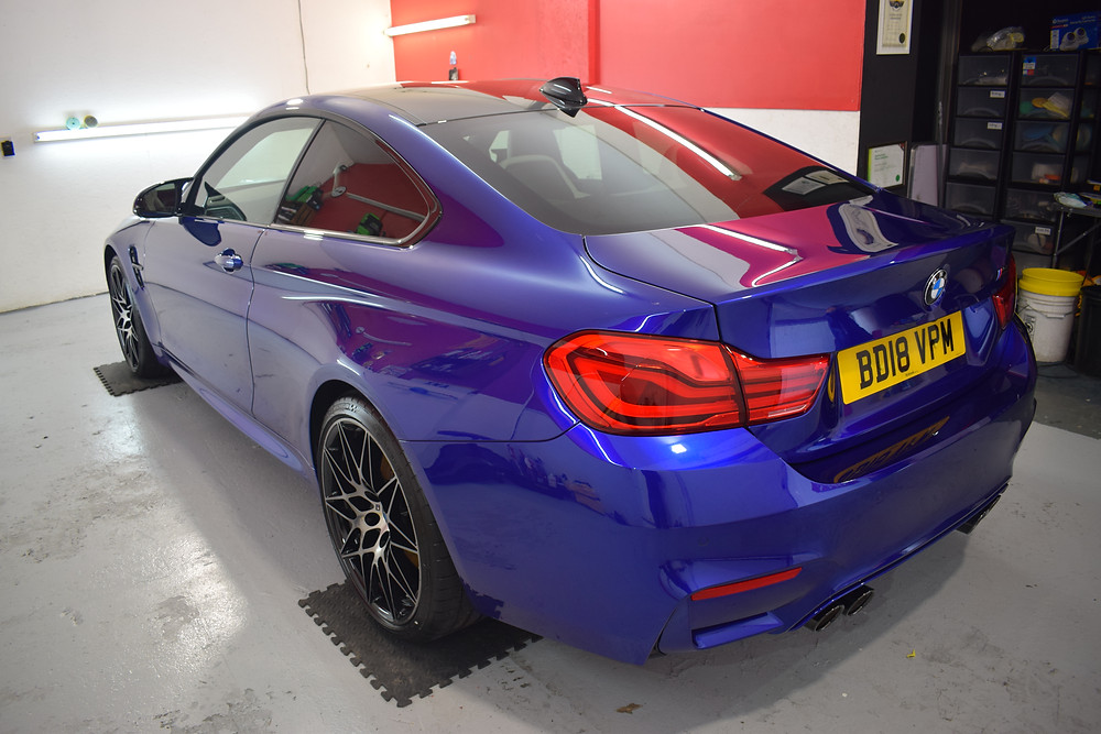 car paintwork protection in telford shropshire by autowerx detailing
