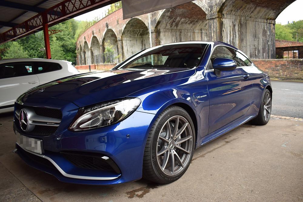 Mercedes New Car Protection Detail West Midlands