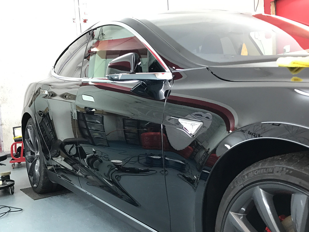 Tesla Model S Paint Correction Detail
