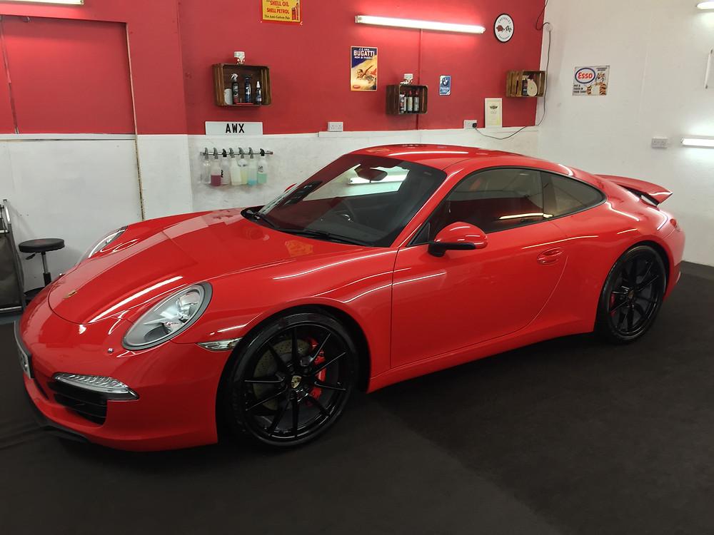 Porsche 911 New Car Detail
