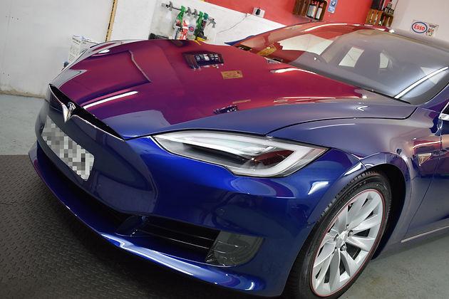 Tesla Paint Protection Film - AUTOFILM Solutions Model S P90