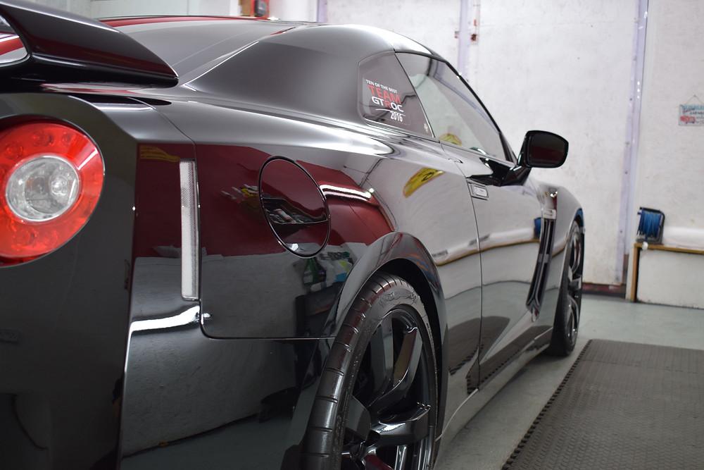 GTR paint correction