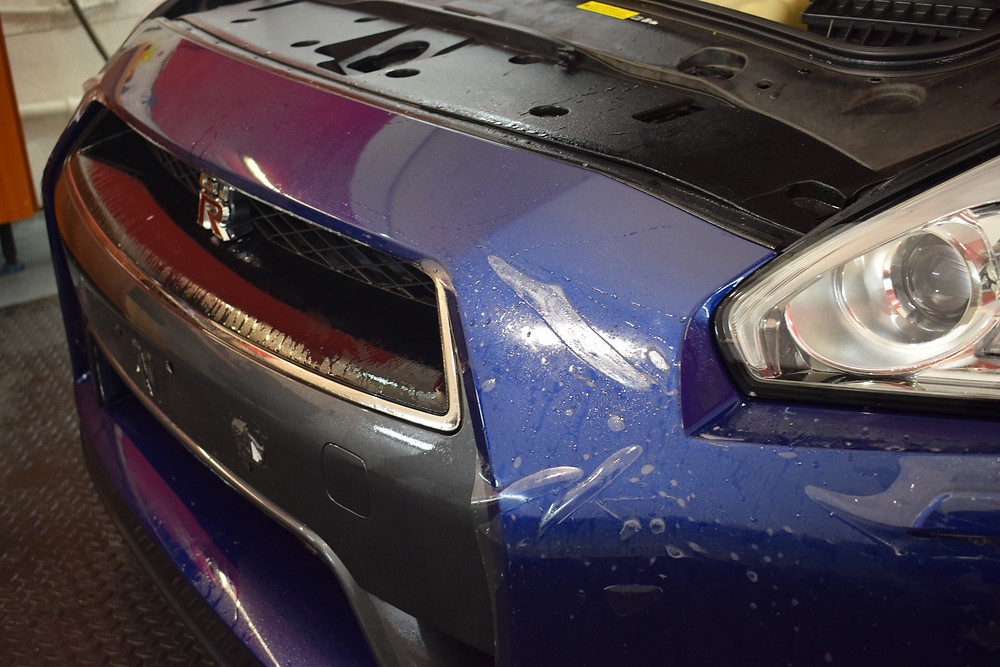 front bumper paint protection film telford midlands