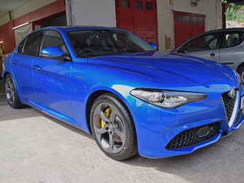 Alfa Romeo Giulia | New Car Detail by AutoWerX Detailing