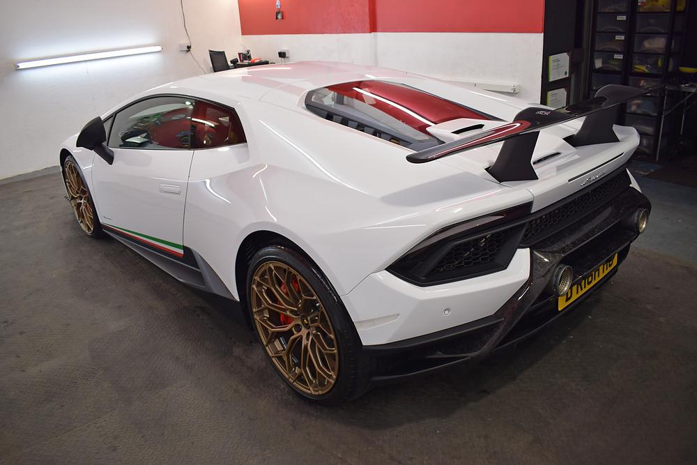 Lamborghini paintwork protection autowerx detailing midlands