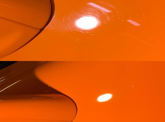 car detailing paint correction mclaren.J
