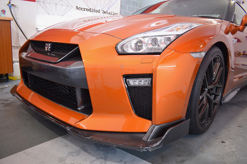 Nissan GTR Front End Protection Film