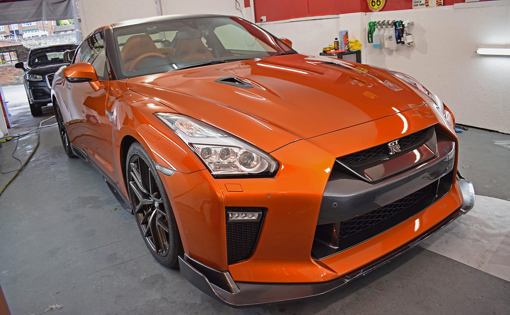 Nissan GTR Paint Protection Film Install