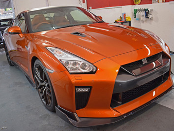 2017 Nissan GTR Paint Protection Film Install - SunTek