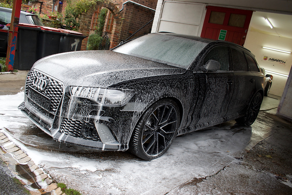 Audi RS6 New Car Paint Protection