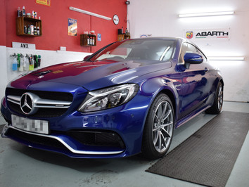 2016 Mercedes C63 AMG - New Car Protection Detail